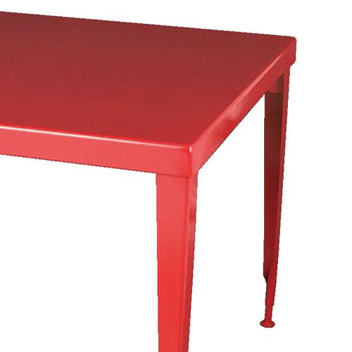 ダルトン スタンダード スクエア テーブル 100-245 RD H750×W860×D860mm