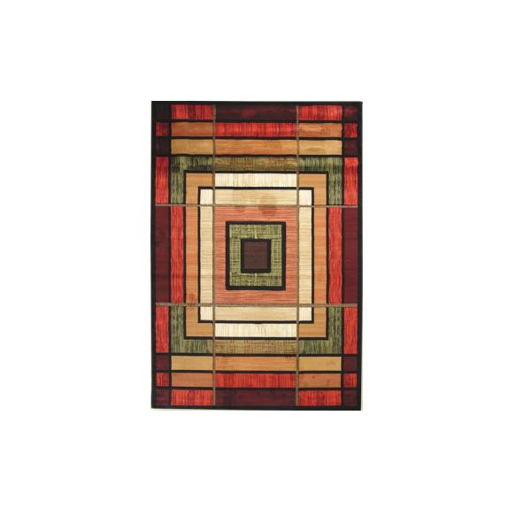 コントゥアーコレクション アンビエンス テラコッタ ハースラグ W79×D127 UW25029H