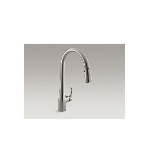 Kohler 【正規輸入品】 シンプライス シングルレバー キッチン水栓 K-596-VS