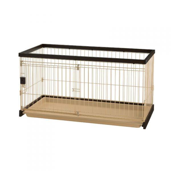 リッチェル 木製お掃除簡単 ペットサークル 超小型犬・小型犬用 120-60