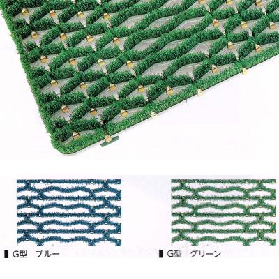 ミヅシマ 樹脂マット ニューマット G型 600×900mm 402-0940ブルー|402-0950グリーン