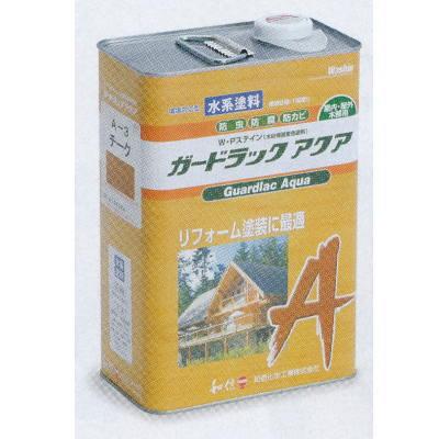 テラモト ガードラックアクア 水系 木材用保護着色塗料 A-3チーク MR-541-004-9 3.5kg