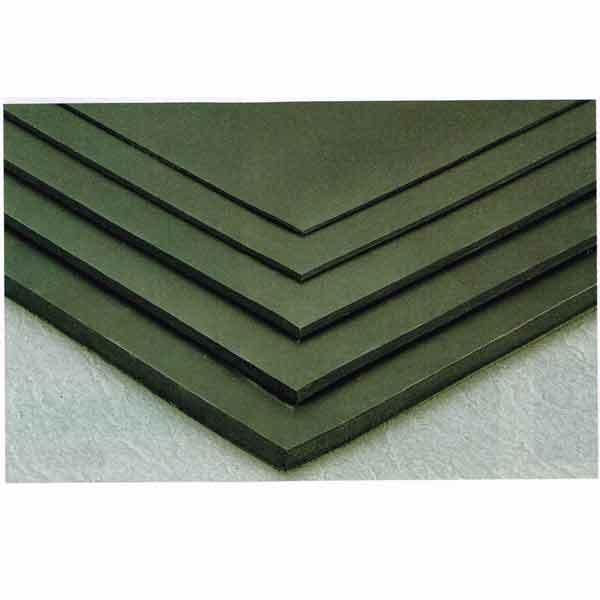 テラモト 養生・保護用 平ゴムマット天然 厚さ3mm MR-152-120-7 1m巾×20m