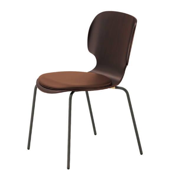 クレス ハベス 3Dシートチェア AM 肘無・4本脚