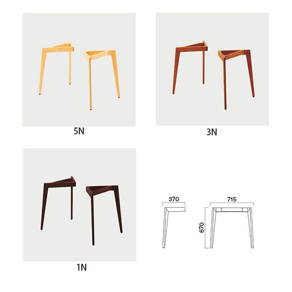 飲食店向け家具 椅子 授与 クレス 750D LG 特価品コーナー☆ 施設用テーブルレッグ