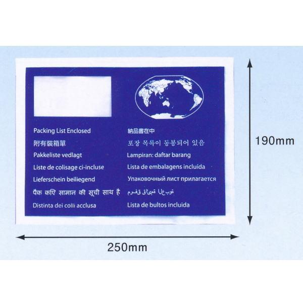 パピルス デリバリーパック PA-009T World Wide用 A5サイズ用 250×190mm 厚み50ミクロン 100枚×10束