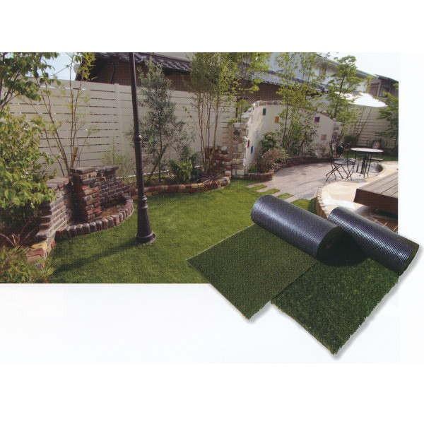 グリーンフィールド リアリーターフ 芝の高さ約40mm人工芝 防炎 抗菌仕様 1m巾×5m長 カット販売