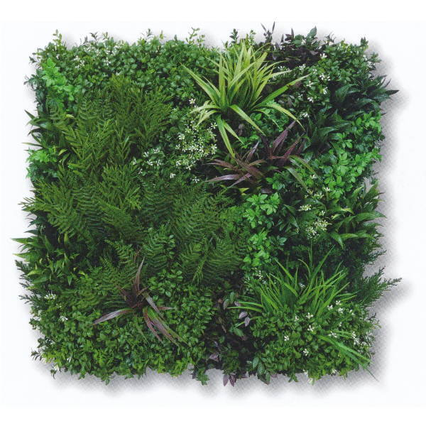 グリーンフィールド ビスタグリーン 壁面用人工芝 幅約80cm×高さ約80cm VG-P1P(本体1枚入+固定用部材4セット入)