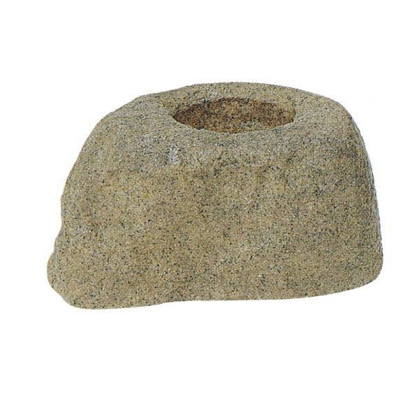 グローベン つくばい石 A60CZ117 W300×H205×D440mm 約2.2kg FRP製