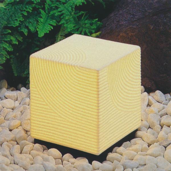 グローベン ボーンチャイナ 庭園灯 3 A60TU003 四角150×H190 100V20W 白熱球 コード長約1.5m