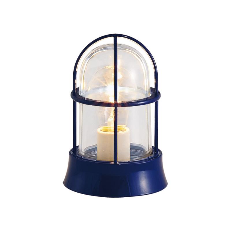真鍮製ガーデンライト BH1000 NV CL(紺塗装仕上/クリアーガラス/白熱電球仕様) GI1-700133