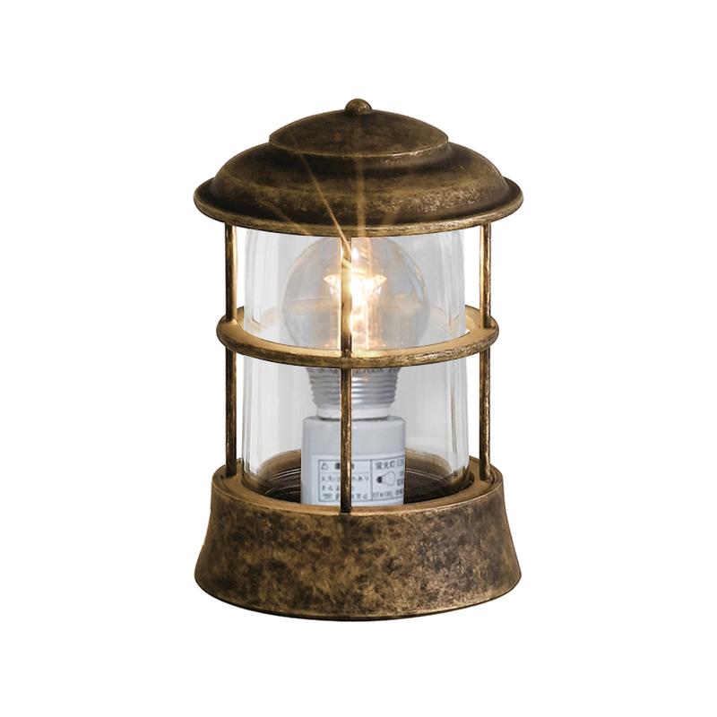 真鍮製ガーデンライト BH1012 AN CL LE(古色仕上/クリアーガラス/LED仕様) GI1-700148