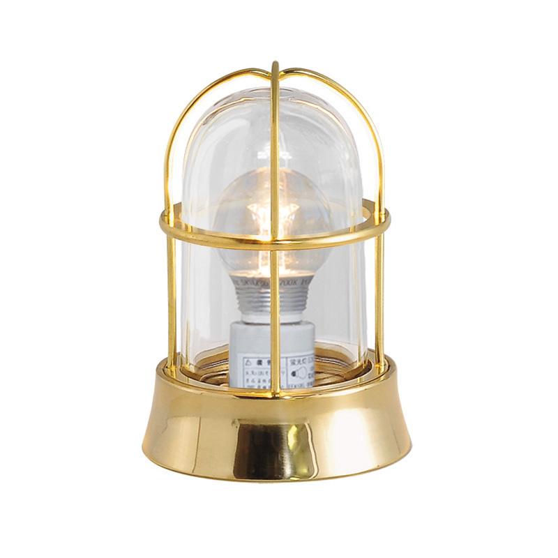 真鍮製ガーデンライト BH1000 CL LE(磨き仕上/クリアーガラス/LED仕様) GI1-700201