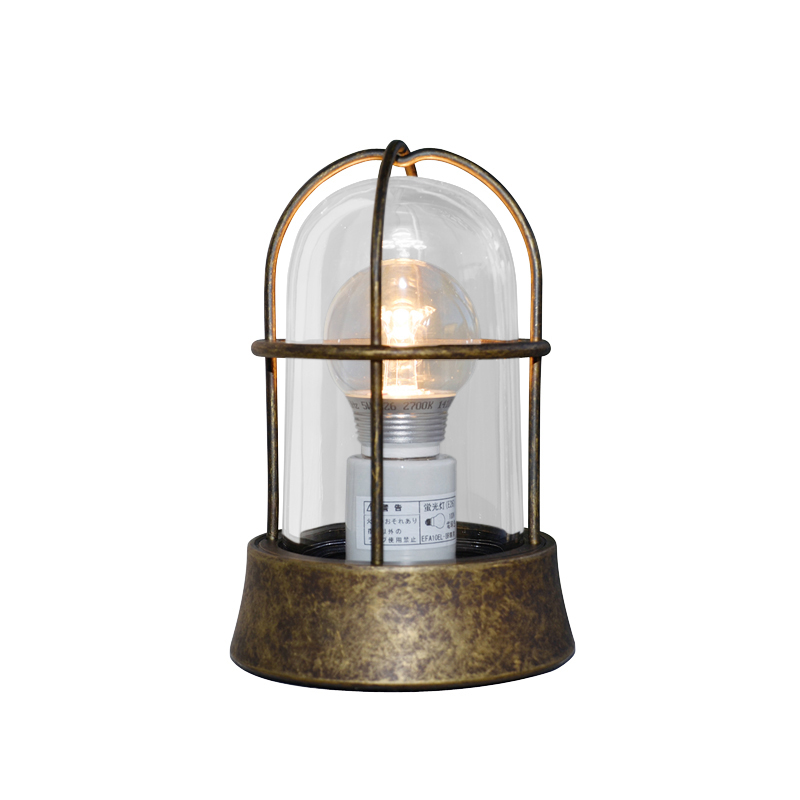 真鍮製ガーデンライト BH1000 AN CL LE(古色仕上/クリアーガラス/LED仕様) GI1-700203