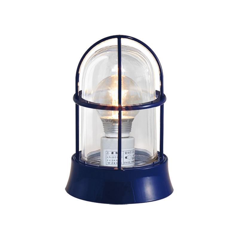 真鍮製ガーデンライト BH1000 NV CL LE(紺塗装仕上/クリアーガラス/LED仕様) GI1-700204