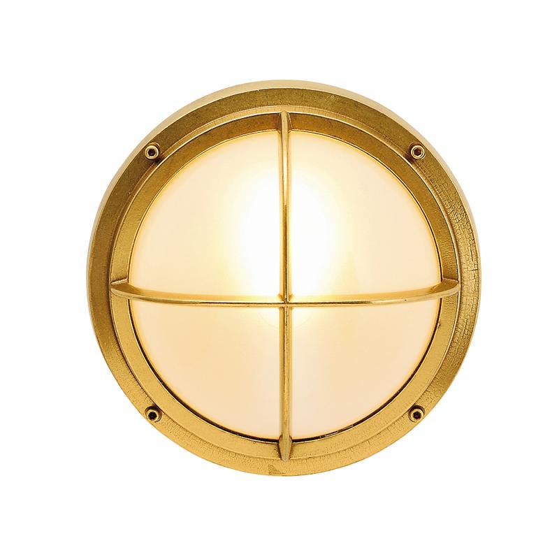 真鍮製ポーチライト BH2226 FR LE(クリアー仕上/くもりガラス/LED仕様) GI1-700313