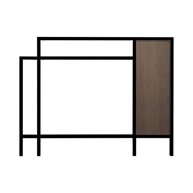 ラミナムプラスフレーム Type2 色:ブラック 柄:コルテッチャ GM1-LF2BK