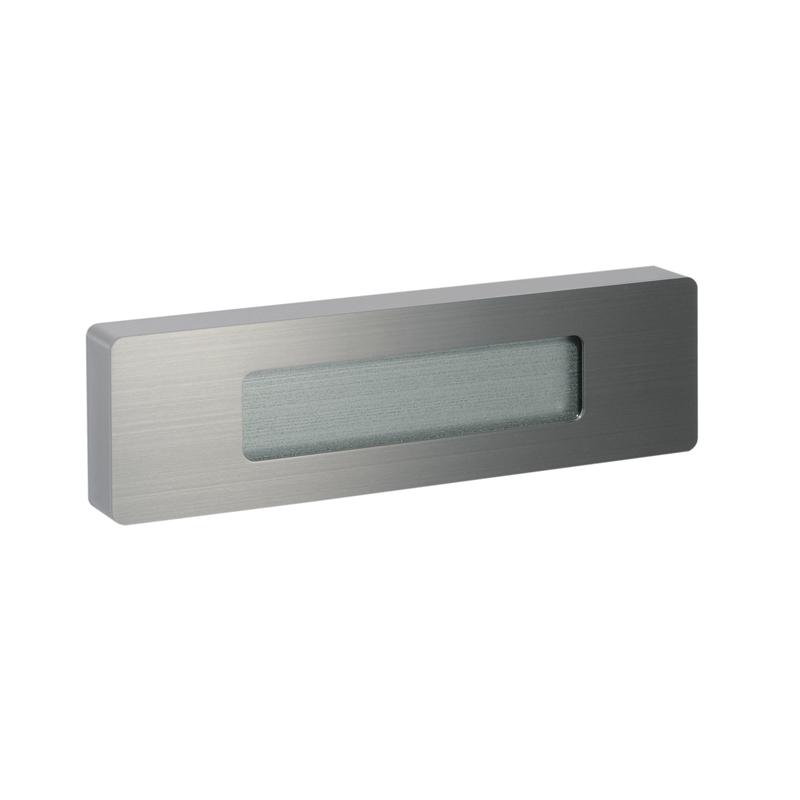 ガラスプレート(ライトタイプ) ヘアライン KN1-GP125XT