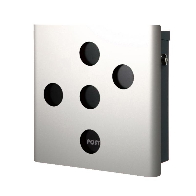 ヴァリオ ネオ スキン イレギュラー 壁掛けタイプ(鍵無し) シルバー NA1-ON03SI