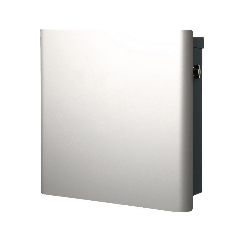ヴァリオ ネオ グラフ プレーン 壁掛けタイプ(T型カムロック付) シルバー NA1-OT04SI