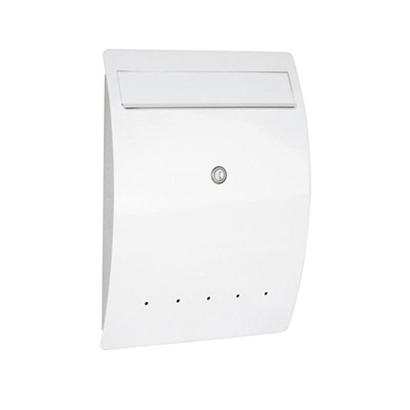 定番 壁掛け ゼラフィーニ 日本未発売 メールボックス SG1-450WH ホワイト エルベ
