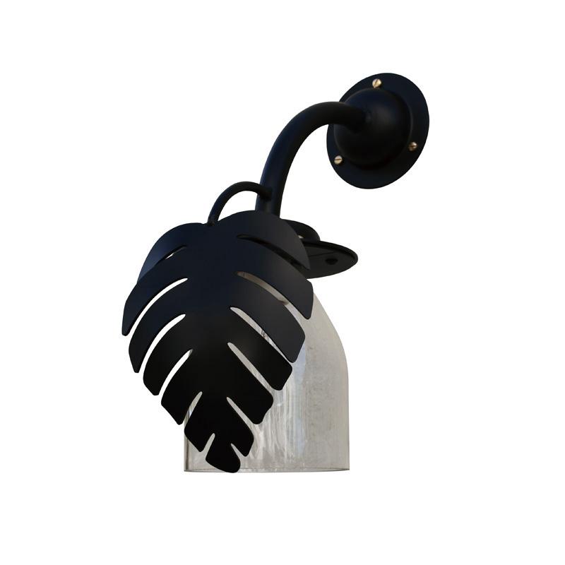 オンリーワンクラブ ガーデンライト エイプロシリーズ ボトル門灯リーフ SR1-BML