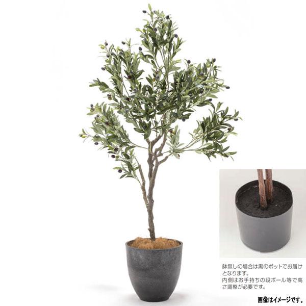 人工観葉植物 ラスティング プランツ オリーブ鉢無し GE3-LP-OL