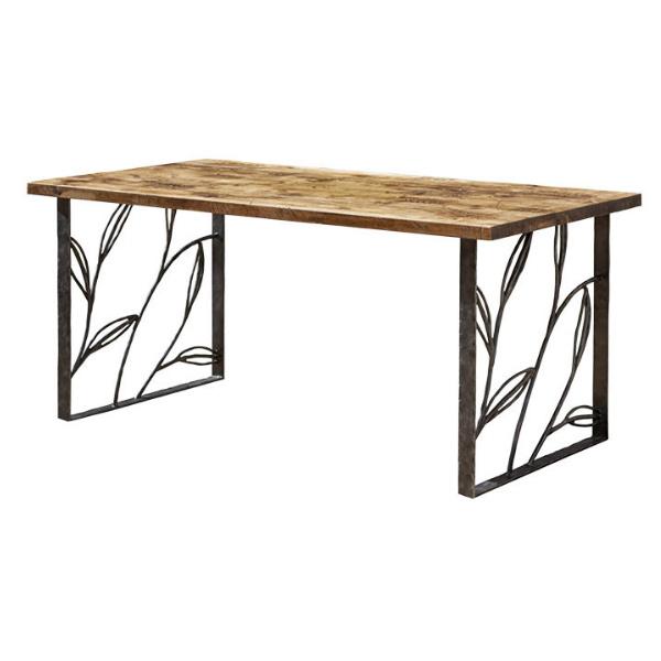 オンリーワンクラブ テーブルパーツ type5 テーブル脚+ヴィンテージ風天板 NA3-TP05BMVT 2脚+1枚/1セット