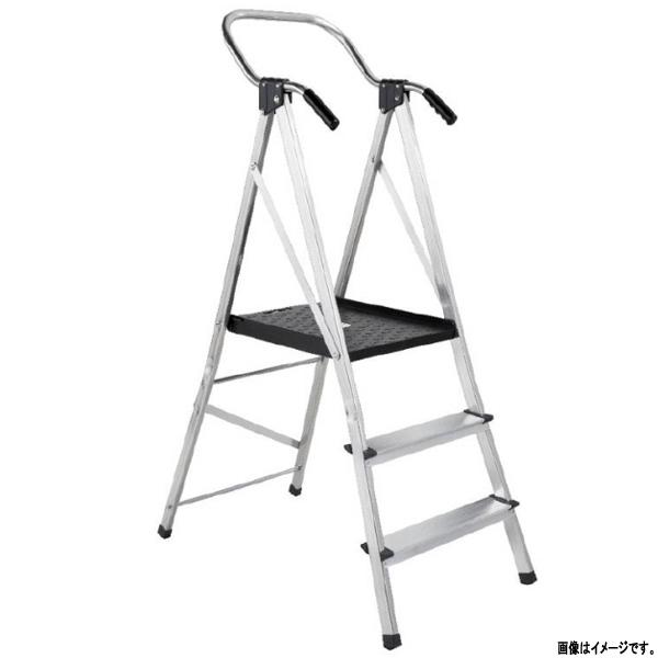 手すり付き安心作業台 ワークベンチ 天板:黒 NU3-NW-SP