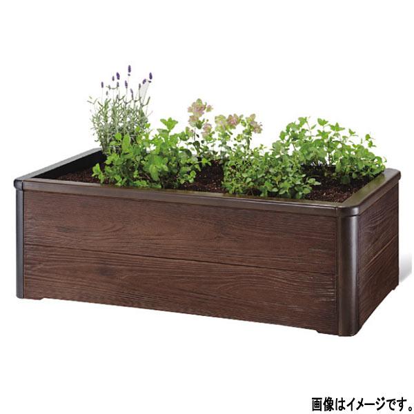 トーシン 組立式プランター キッチンガーデン GRC 焼杉木目 KGN-9050
