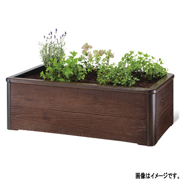 トーシン 組立式プランター キッチンガーデン GRC 焼杉木目 KGN-9090