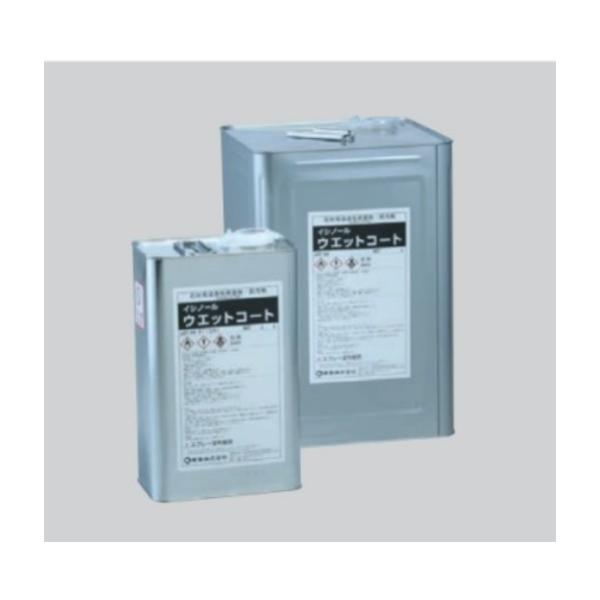 ユニソン 吸水防止剤 イシノール ウェットコート(濡れ色仕上) 16L/缶