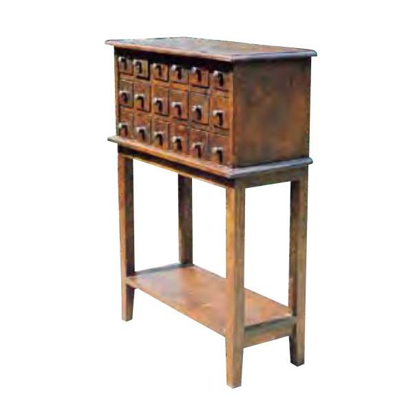 ジャービス商事 小引出テーブル W630×H890×D290 35244