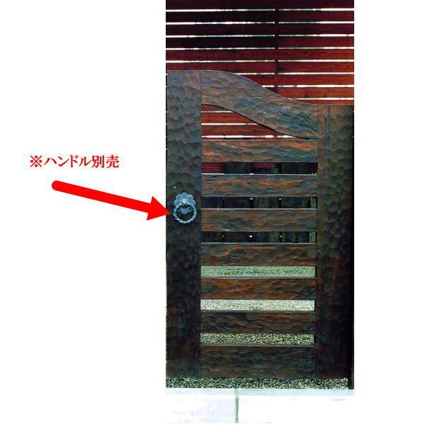ジャービス商事 ウッド門扉 扇2型 本体 0612 35264 1つ
