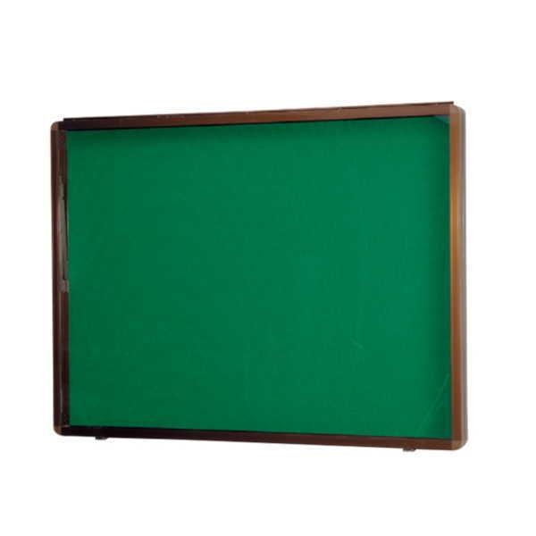 神栄ホームクリエイト アルミ屋外掲示板(壁付オープン型) SK-8040N-1 H630×W930×D70mm