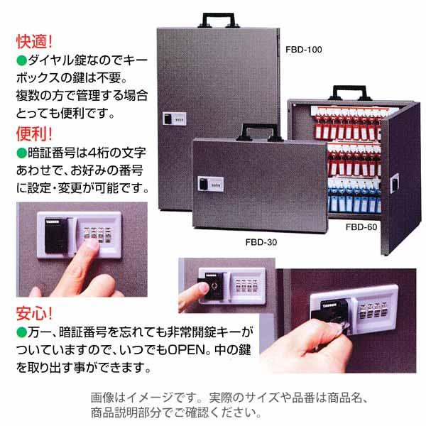 田邊金属 TANNER キーボックス FBD-100 443×662×55