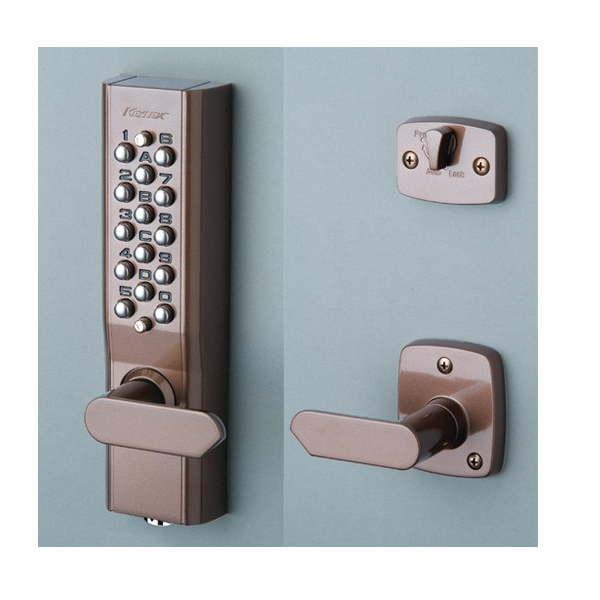 長沢製作所 キーレックス 自動施錠鍵付 22623M