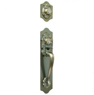長沢製作所 古代 サムラッチツーロック ケースロック取替錠 924066 バックセット60mm