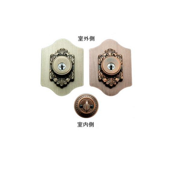 長沢製作所 古代 本締取替錠 922054