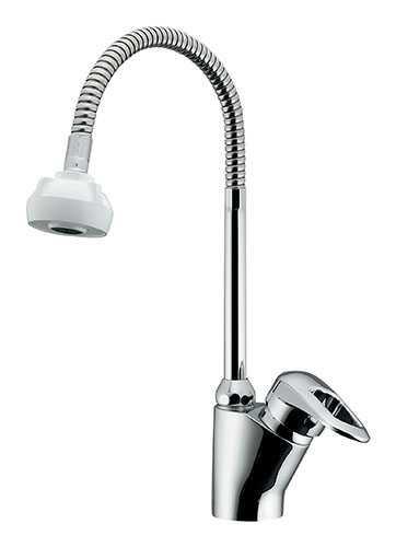 カクダイ シングルレバー混合栓(シャワーつき) 183-134