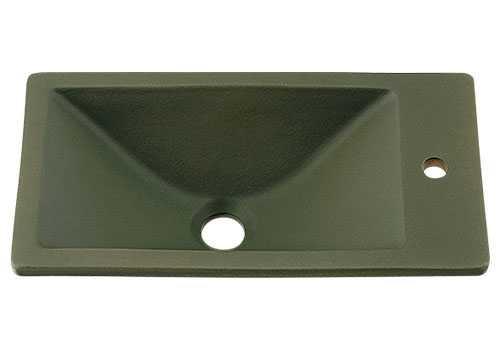 カクダイ 角型手洗器 松葉 493-010-YG