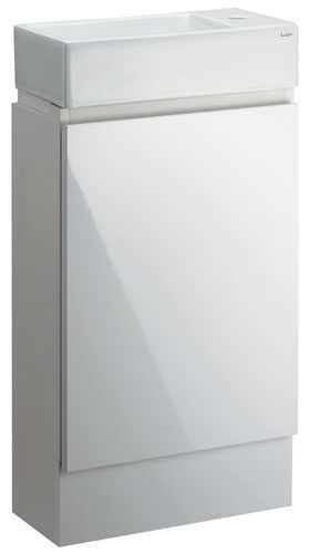 カクダイ 角型手洗器(キャビネットつき) 493-069