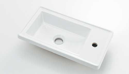 カクダイ 角型手洗器 493-154