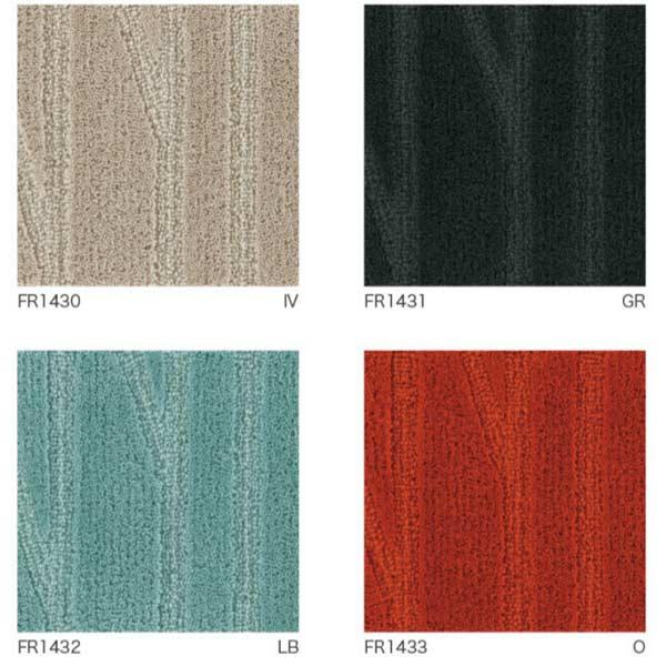 川島織物セルコン オーダーサイズ ラグジュアリーラグ ノルディックバーチ FR1430~FR1433 平米単価(縦、横巾10cm単位でオーダー サイズにより価格変)