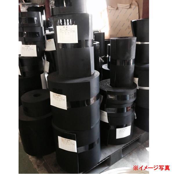 日東化工 合成ゴムシート NM605 2mm厚 1m幅×10m長 フラット 32kg 黒色 クロロプレンゴム系