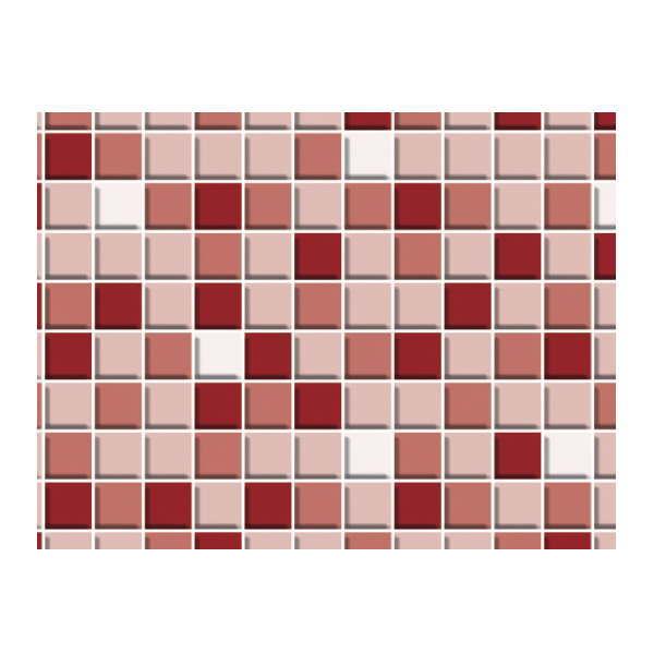 明和グラビア 貼ってはがせる デコタイルシート ロール物 DGT-05 モザイクタイル ピンク 40cm×15m 217898