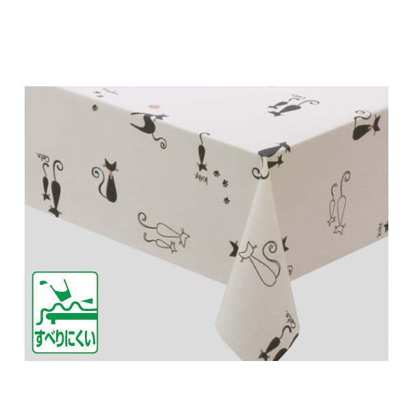 明和グラビア ニューファブリッククロス テーブルクロス(ロール) 120cm×20m NFC-108 クリーム 218222