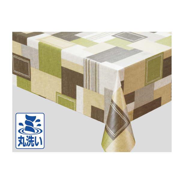 入荷次第 明和グラビア MGOXシリーズ テーブルクロス(ロール) 135cm×15m MGOX-106 グリーン 219557