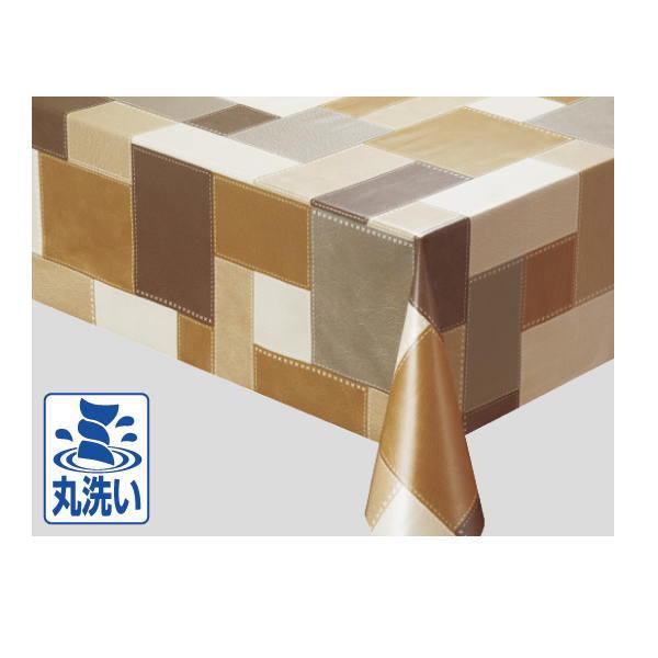 明和グラビア テーブルクロス MGOXシリーズ 135cm×15m MGOX-107 ベージュ 219588