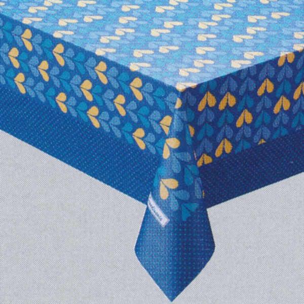 明和グラビア スカンジナビアコレクション(枠柄) MG-9902(モルデ) 120cm×150cm/20枚巻 ブルー 226920